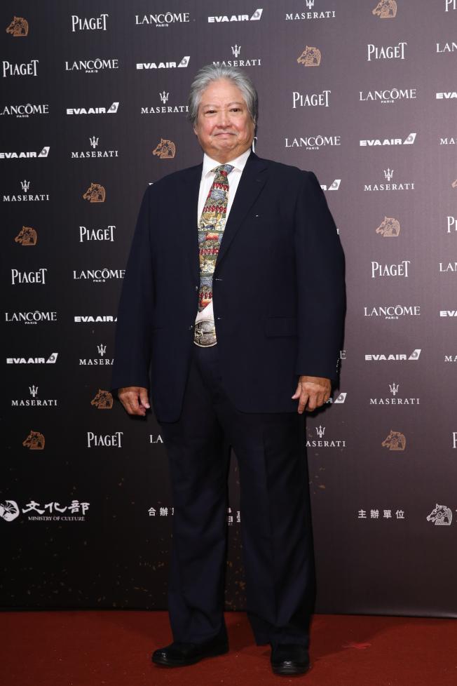 洪金寶去年才精神奕奕地出席台灣金馬獎頒獎典禮。(本報資料照片)