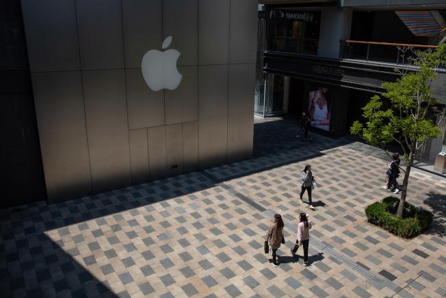 蘋果公司。歐新社