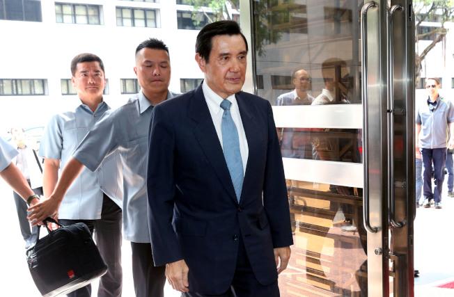 前總統馬英九。(記者林俊良/攝影)