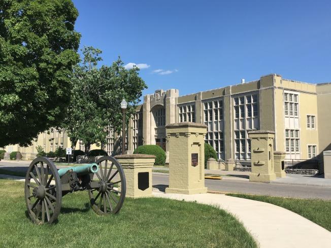 維吉尼亞軍校正門。(圖皆為作者提供)