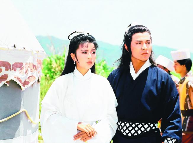 陳玉蓮(左)和劉德華的「神鵰俠侶」,是永遠的經典。(圖:弘音多媒體提供)