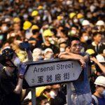 反送中示威者傳唱 聖歌成政治盾牌