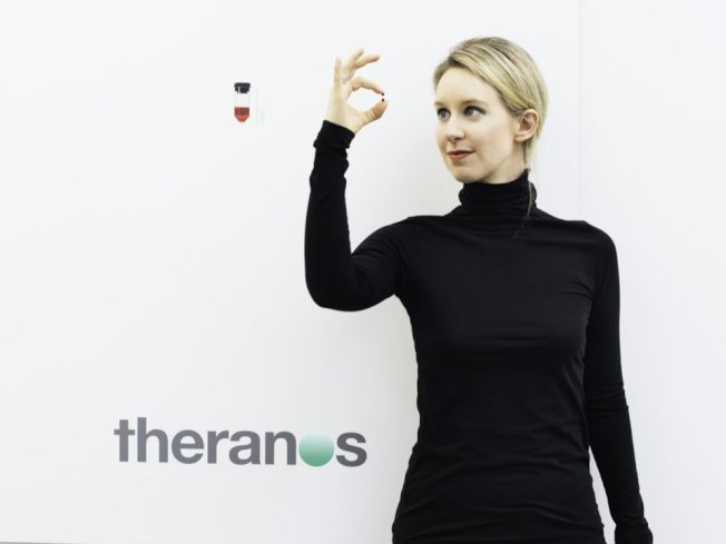 伊莉莎白霍姆斯為美國Theranos公司的創辦人。(擷自/HBO)