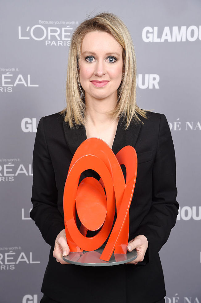 霍姆斯是「魅力雜誌」(Glamour)2015年年度風雲女性得主。(Getty Images)