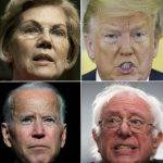 民主黨支持度最高3人都逾70歲…2020大選或變古稀之戰