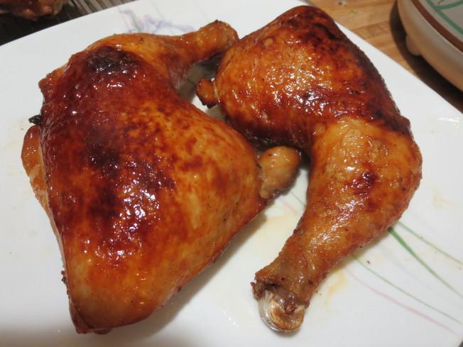 脆皮炸子雞