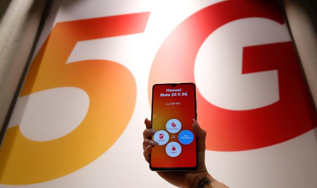 據報導,川普政府將下令要求美國企業使用中國以外產製的5G產品,避免使用中國華為5G產品。(路透)