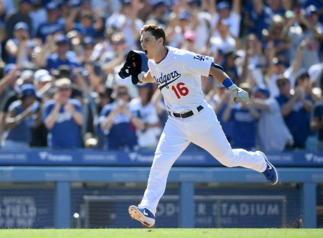 史密斯本季首度升上大聯盟,短短七場比賽就敲出三發全壘打、六分打點。(Getty Images)