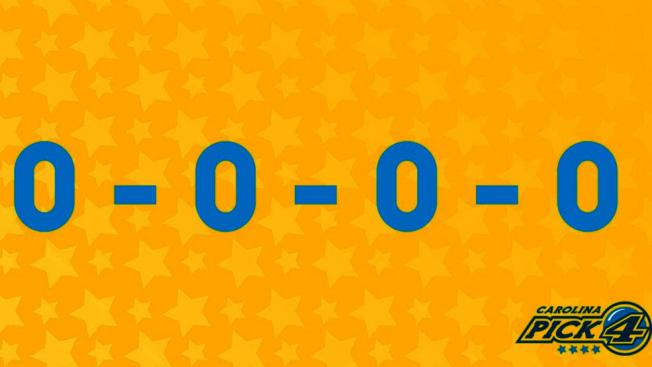 北卡「Pick 4」彩券22日下午開出0-0-0-0四個中獎號碼,共有2014名彩券贏家中獎、獎金總額達780萬元。(北卡彩券局)