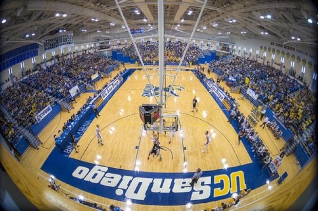 聖地牙哥加大籃球館設施一流。(取材自學校官網)