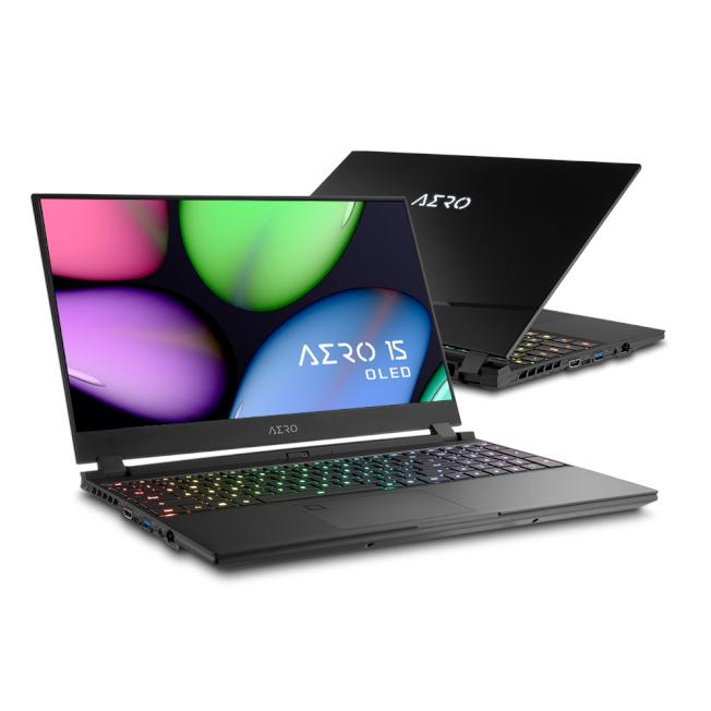 技嘉全新AERO 15 OLED筆電。(取材自技嘉)