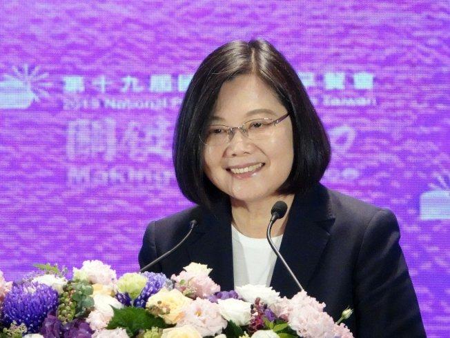 TVBS最新民調顯示,蔡英文支持度皆呈現領先。 (本報資料照片)