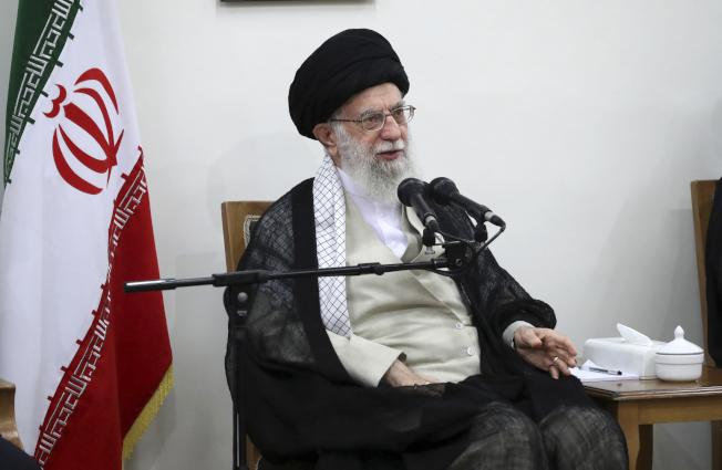 伊朗最高領袖哈米尼(美聯社)