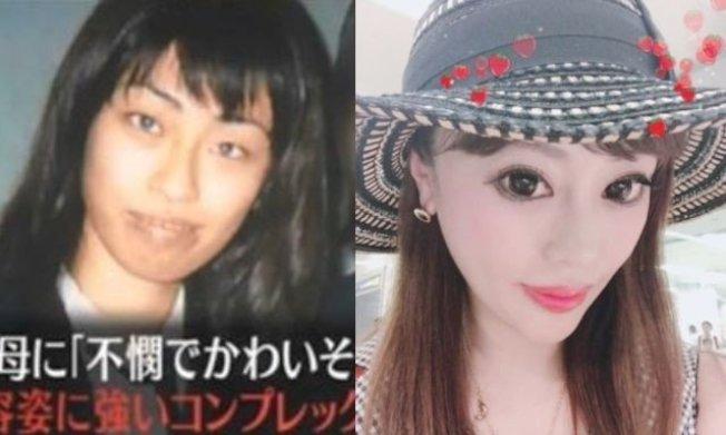 日本女子椿朋海小姐被稱為「整形Monster」。 (圖/翻攝自IG/tomomitsubaki)
