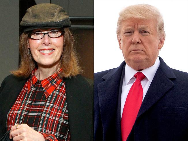 「紐約雜誌」爆料稱「SHE」雜誌前專欄作家珍.卡若爾(左圖),多年前在紐約百貨商店遭川普強暴。(Getty Images)