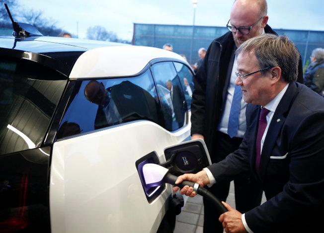 BMW i3電動車。路透