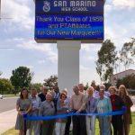 聖瑪利諾高中1958年班 捐款5萬建電子看板