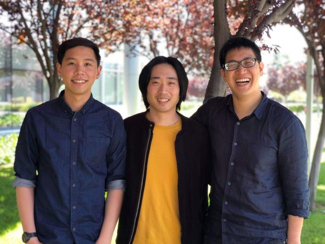 「不想上班日」演唱會創辦人(左起)王韋夫、胡凱傑、顧宗浩,均來自台灣。(胡凱傑提供)