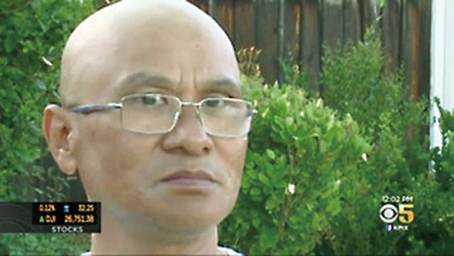 開槍殺掉四名親戚的越裔男子Chi Dinh Ta。(電視新聞截圖)
