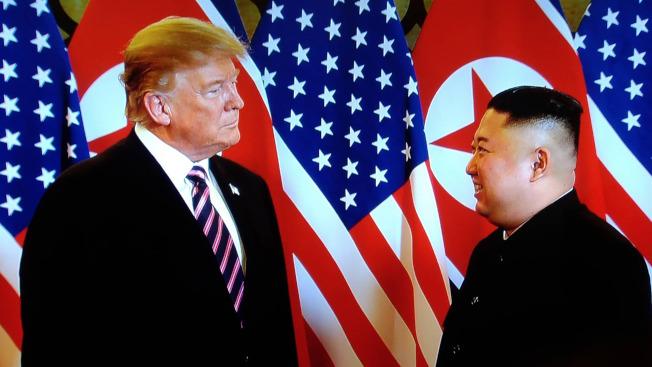 北韓和美國正就金正恩和川普舉行第三次高峰會進行磋商。(中央社資料照片)