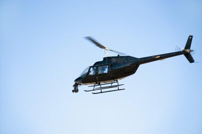富豪遇塞車,竟叫直升機到場接送。示意圖。圖片來源IngImage