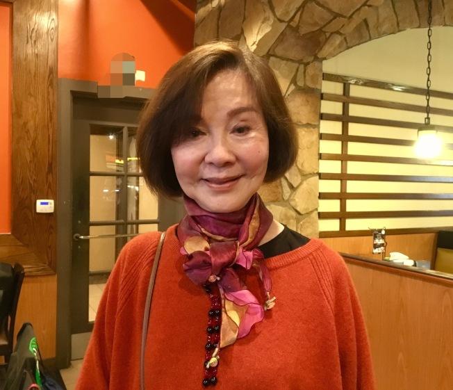 歸亞蕾出席「與電影共舞電影節」的慶功宴。(記者謝雨珊/攝影)