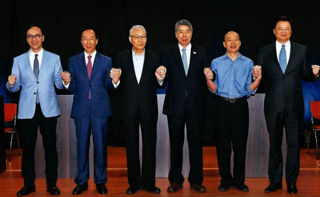 五位國民黨總統初選參選人郭台銘、朱立倫、韓國瑜、周錫瑋、及張亞中的發言各有特色,部分南加藍營更愛周錫瑋與張亞中在辯論會上的表現。(聯合新聞網)