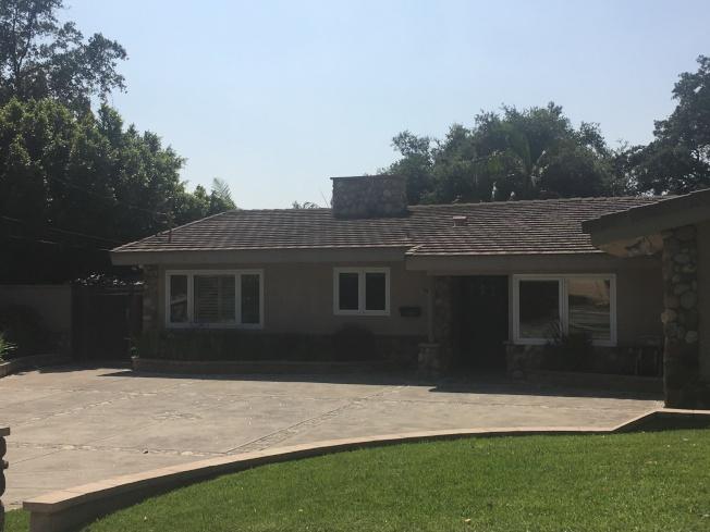 王寶強與前妻馬蓉在南加巴沙迪那市的房產目前掛牌上市售賣。(記者王全秀子/攝影)