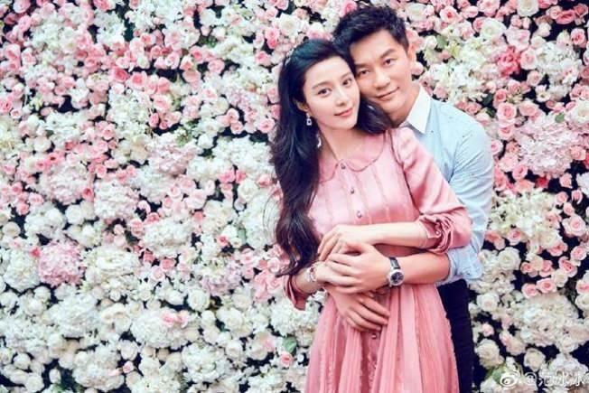 范冰冰(左)曾與李晨傳出情變,如今正式宣布分手。(取材自微博)
