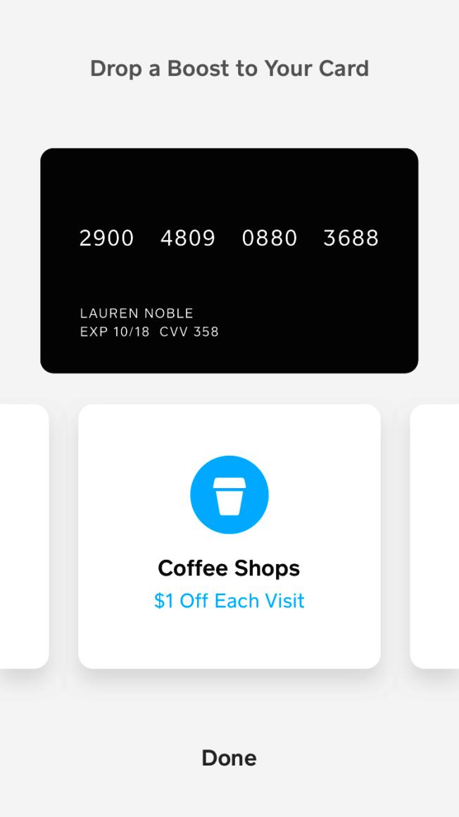 有移動支付軟體提供購買特定商品折扣服務,吸引用戶。(Cashapp提供)