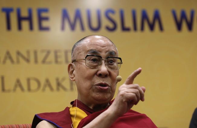 達賴喇嘛批評川普「缺乏道德原則」。(歐新社)