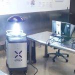 洛市警局防傷寒 找「機器人」殺菌