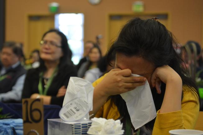 李智華的精采講座,讓不少灣區觀眾落淚。(記者劉先進/攝影)