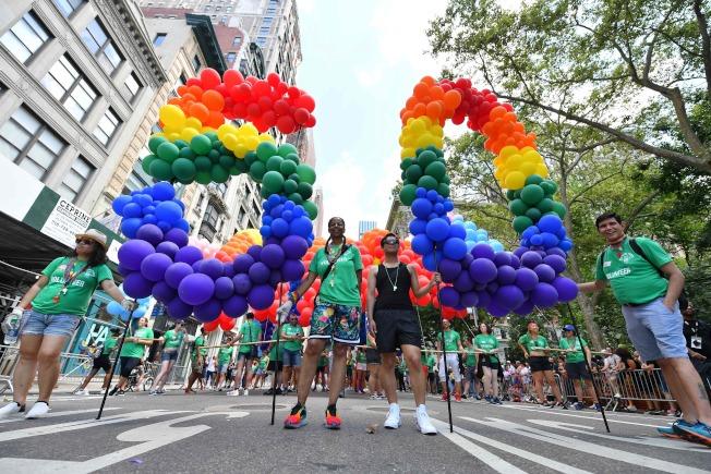 今年是LGBTQ運動史上標誌性事件紐約「石牆暴動」50周年。(Getty Images)