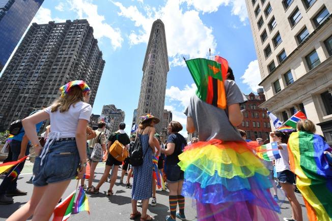 紐約市每年6月也舉辦一系列活動紀念石牆暴動,為期一個月,往往吸引大量旅客。(Getty Images)