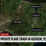 德州私人飛機失事  機上10人全罹難