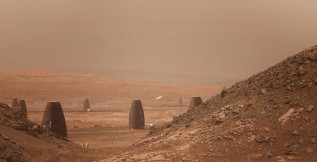 腦洞大開!NASA辦火星建築比賽 來看誰贏了