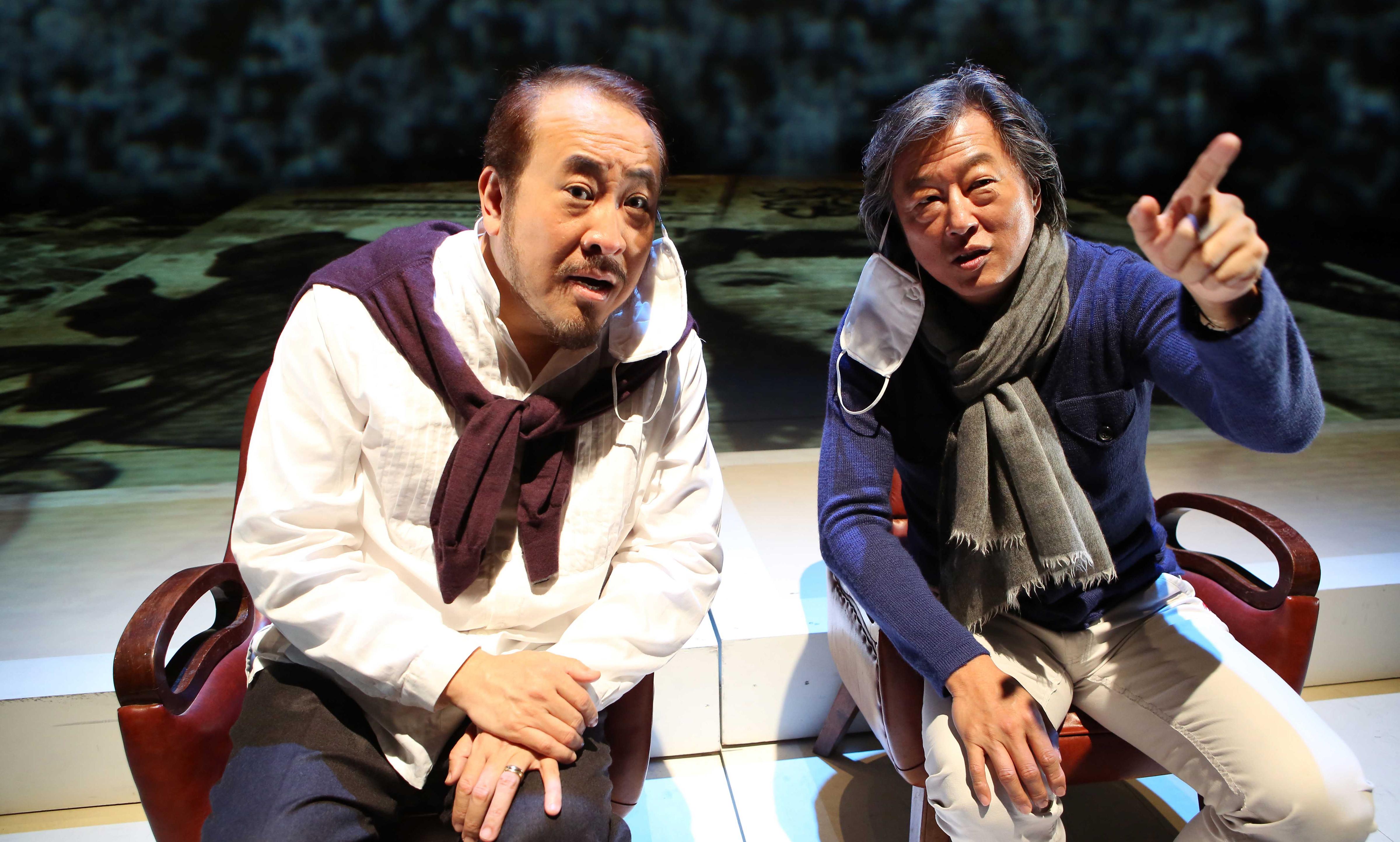 國際聲樂家田浩江,以及王牌製作人王偉忠領銜主演。(圖/主辦單位提供)