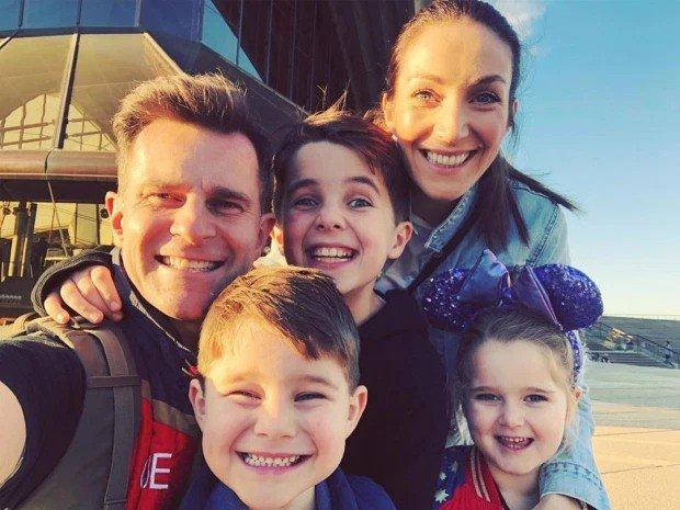 四歲的兒子比利能夠細數黛安娜王妃生前事蹟,嚇壞坎貝爾一家。圖擷自David Campbell Instagram