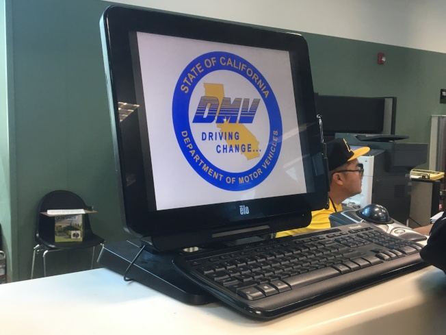 加州汽車管理局(DMV)實施多項新措施提高辦事效率。(記者謝雨珊/攝影)