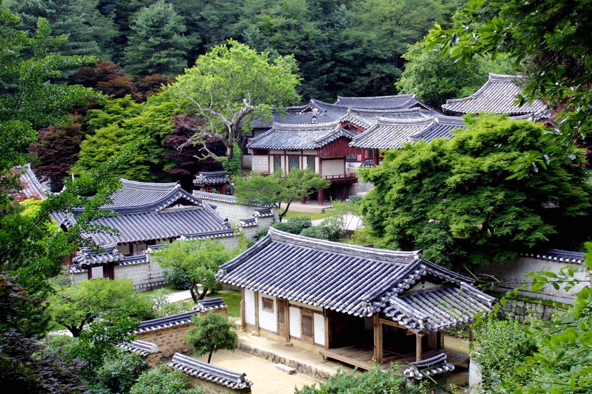 """韩国九处儒家书院以""""突出普遍价值"""",被列入世界文化遗产。(欧新社)"""