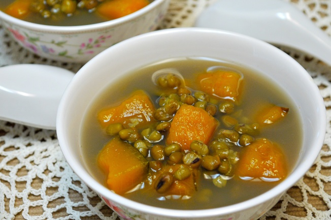 綠豆南瓜湯