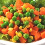 冷凍三色豆當蔬菜吃 小心高熱量