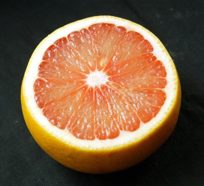 葡萄柚。(本報資料照片)