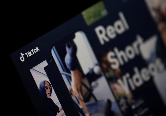 抖音是一款新的社群應用程式,目前正處於快速成長階段,並以用戶人氣指數和回饋當作參考。(路透)