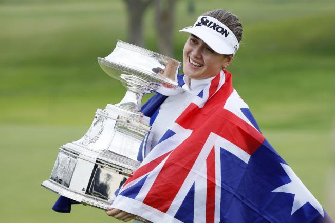 葛琳過去默默無聞,如今一舉贏得女子PGA錦標賽。(美聯社)