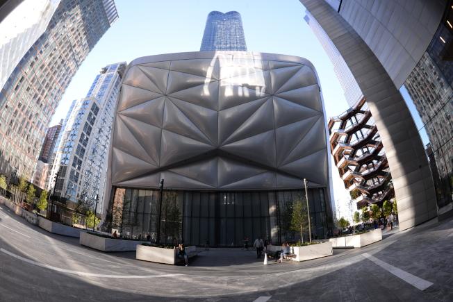 棚屋是立方體的建築。(許振輝/攝影)