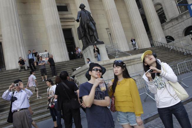 中國遊客對美國各大門戶城市貢獻良多。(美聯社)