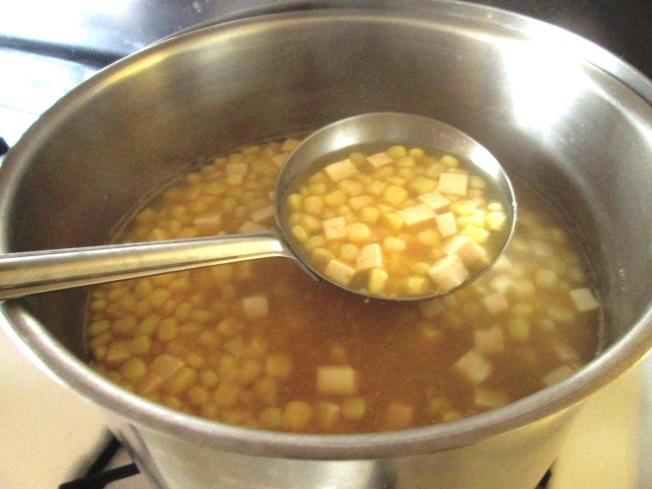 玉米豆腐味噌湯