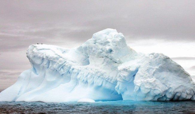 南極洲海冰面積創新低。圖╱Getty Images